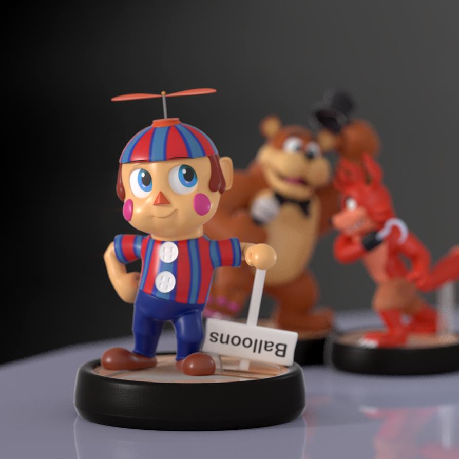 Balloon Boy Amiibo! : Fivenightsatfreddys
