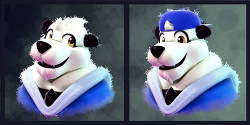 Blender Doodles(?): Tairu Panda!