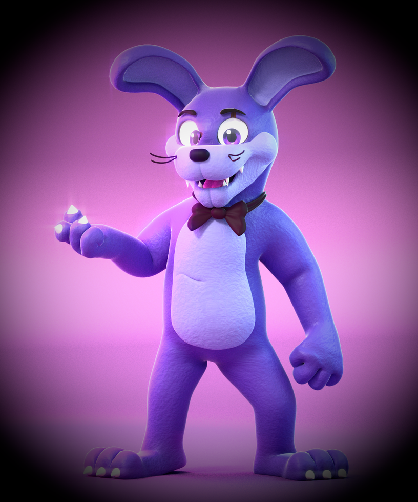Nightmare bonnie by smashingrenders on deviantart