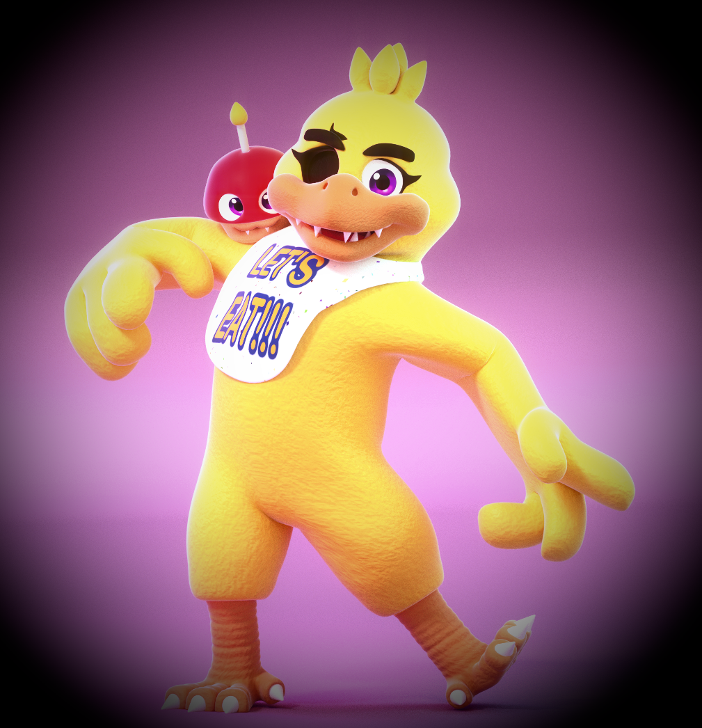 Nightmare Chica! by SmashingRenders