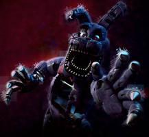 Nightmare Bonnie! by SmashingRenders