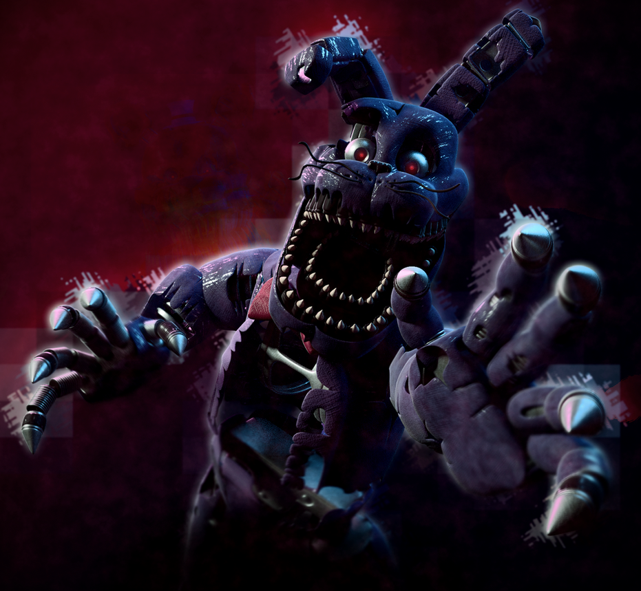 Nightmare Bonnie! By SmashingRenders On DeviantArt