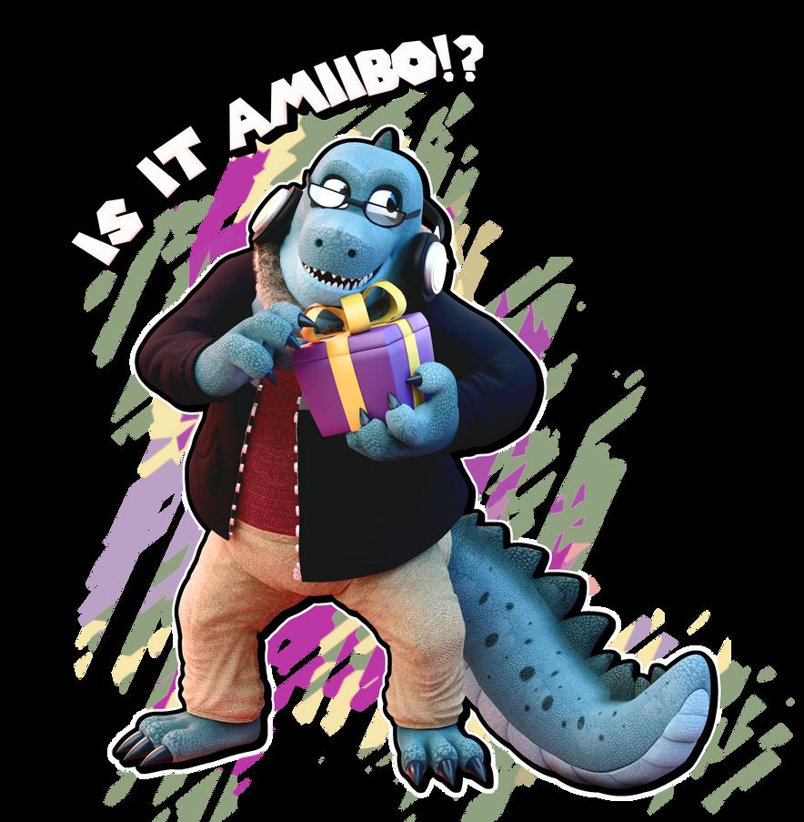 Amiibo Gator! by SmashingRenders