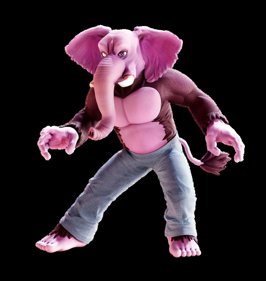 Commission: Gorillaphent! by SmashingRenders