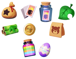 A Bunch A Animal Crossing Icons