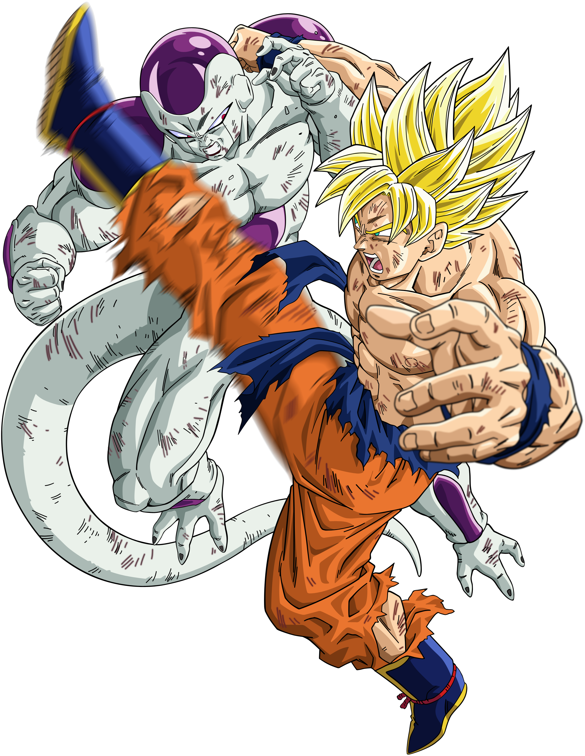 Anime hankering goku super saiyan - Goku vs vegeta super saiyan 5 ...