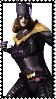 IGAU stamp batgirl by SamThePenetrator
