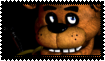 FNAF Freddy stamp by SamThePenetrator