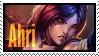 Ahri Foxfire  Stamp Lol by SamThePenetrator