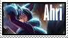 Ahri Midnight  Stamp Lol by SamThePenetrator