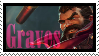 Graves  Stamp Lol by SamThePenetrator