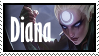 Diana  Stamp Lol by SamThePenetrator