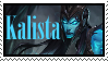 Kalista  Stamp Lol by SamThePenetrator