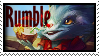Rumble Rumble In Jungle  Stamp Lol by SamThePenetrator