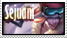 Sejuani Poro Rider Stamp Lol by SamThePenetrator