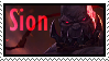 Sion  Stamp Lol by SamThePenetrator