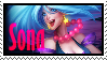 Sona Arcade  Stamp Lol by SamThePenetrator
