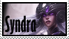 Syndra  Stamp Lol by SamThePenetrator