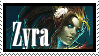 Zyra Haunted  Stamp Lol by SamThePenetrator
