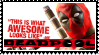 Deadpool  stamp by SamThePenetrator