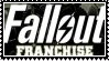 Fallout franchise  stamp by SamThePenetrator