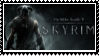 SKYRIM  stamp by SamThePenetrator