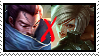 Couple Lol Stamp YasuoxRiven by SamThePenetrator