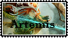 SMITE stamp  Artemis by SamThePenetrator
