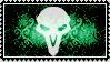 Overwatch stamp logo Reaper