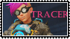Tracer punk stamp  Overwatch by SamThePenetrator
