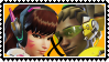 Overwatch straight stamp  DVaxLucio by SamThePenetrator