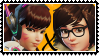 Overwatch yuri stamp  DVaxMei by SamThePenetrator