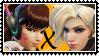 Overwatch yuri stamp  DVaxMercy by SamThePenetrator