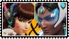 Overwatch yuri stamp  DVaxSymmetra by SamThePenetrator