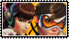 Overwatch yuri stamp  DVaxTracer by SamThePenetrator