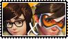Overwatch yuri stamp  MeixTracer by SamThePenetrator