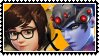 Overwatch yuri stamp  MeixWidowMaker by SamThePenetrator