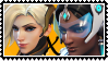Overwatch yuri stamp  MercyxSymmetra by SamThePenetrator