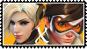 Overwatch yuri stamp  MercyxTracer by SamThePenetrator