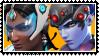 Overwatch yuri stamp  SymmetraxWidowMaker by SamThePenetrator