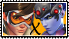 Overwatch yuri stamp  TracerxWidowMaker by SamThePenetrator
