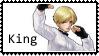 KOFXIII King  stamp by SamThePenetrator