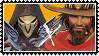 overwatch yaoi stamp Reaper x McCree by SamThePenetrator