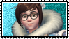 Overwatch stamp Mei by SamThePenetrator