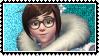 Overwatch stamp Mei by SamThePenetrator