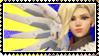 Overwatch stamp Mercy by SamThePenetrator