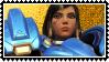 Overwatch stamp Pharah by SamThePenetrator