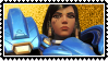 Overwatch stamp Pharah by SamThePenetrator