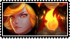 Elementalist Lux Fire stamp by SamThePenetrator
