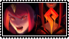 Elementalist Lux Magma stamp by SamThePenetrator